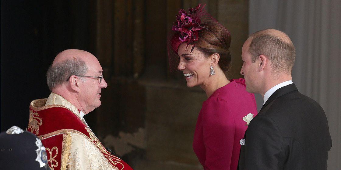 KAte Middleton at Princess Eugenie Wedding