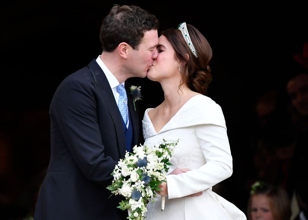 All the Royal Reception Moments From Princess Eugenie