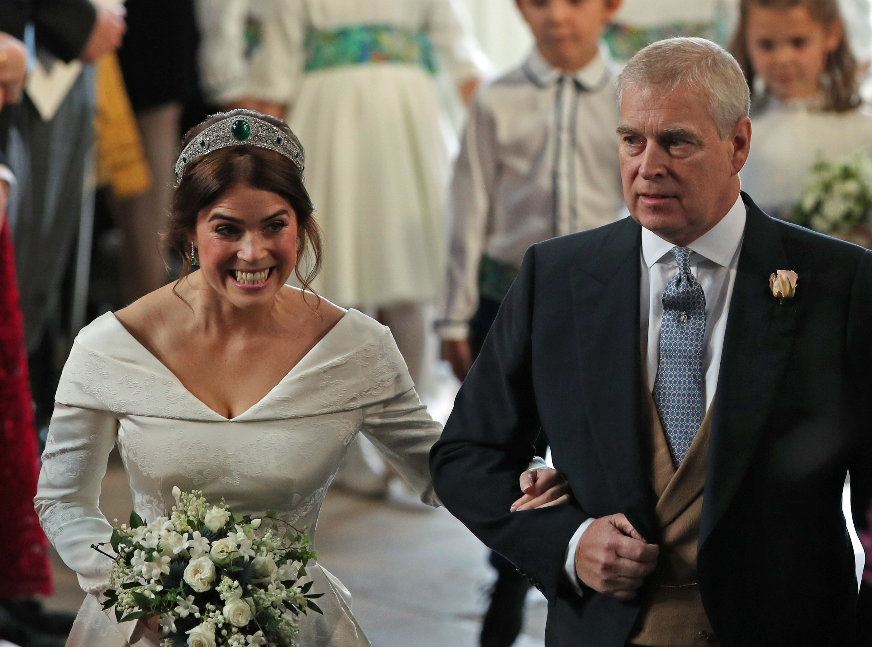 Princess Eugenie Shared the Most Romantic Unseen Photo from Her Royal Wedding