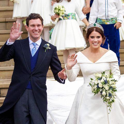 Gown, Bride, Wedding dress, Photograph, Ceremony, Bridal clothing, Dress, Formal wear, Wedding, Event,