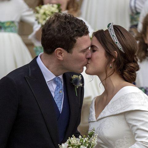 Todos los detalles después de la ceremonia de la boda de Eugenia de York.
