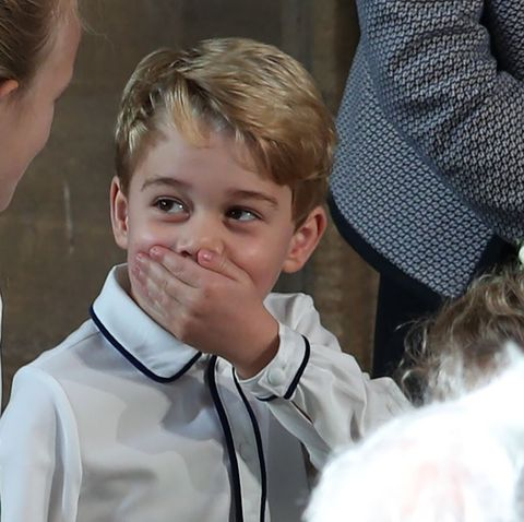 How did Prince George know baby Archie's name before he was born?