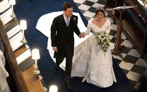 Princess Eugenie Wedding Televised.How Princess Eugenie And Jack Brooksbank S Wedding Broke Royal Tradition
