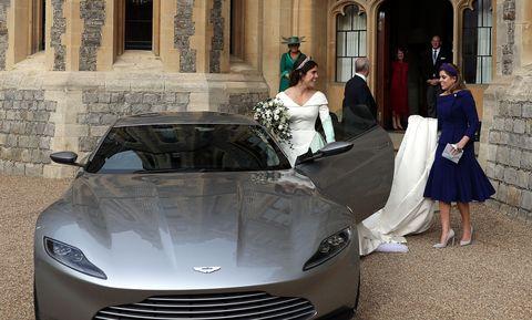 Aston Martin DB10 royal wedding