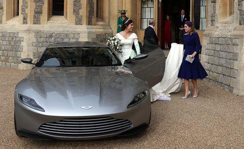 Aston Martin DB10 from Princess Eugenie's Royal Wedding
