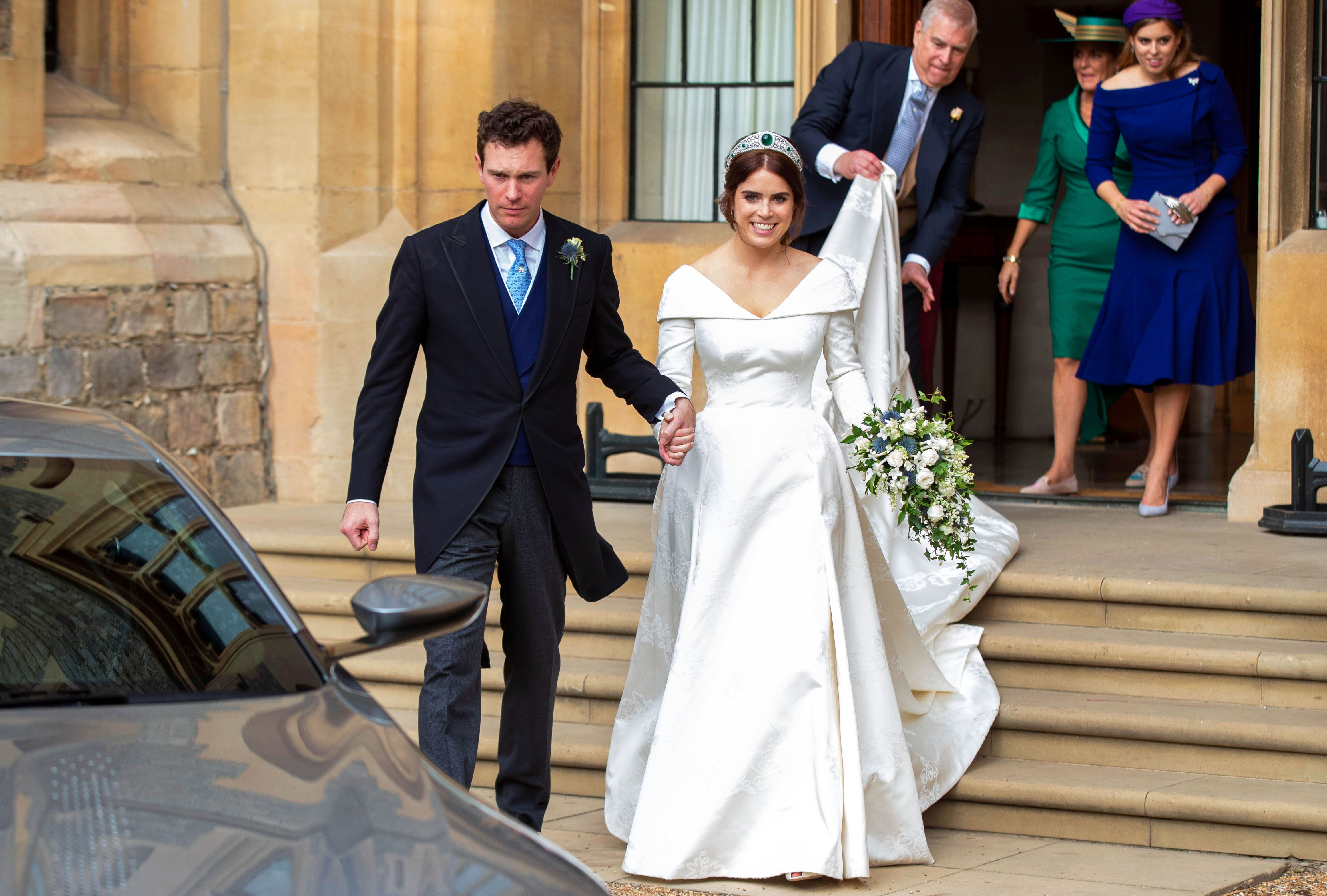 Princess Eugenie Skipped A Second Wedding Dress And Wore Her Peter