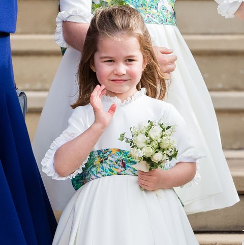 Child, Clothing, Dress, Ceremony, Bridal clothing, Wedding ceremony supply, Bridal party dress, Bouquet, Wedding dress, Gown,