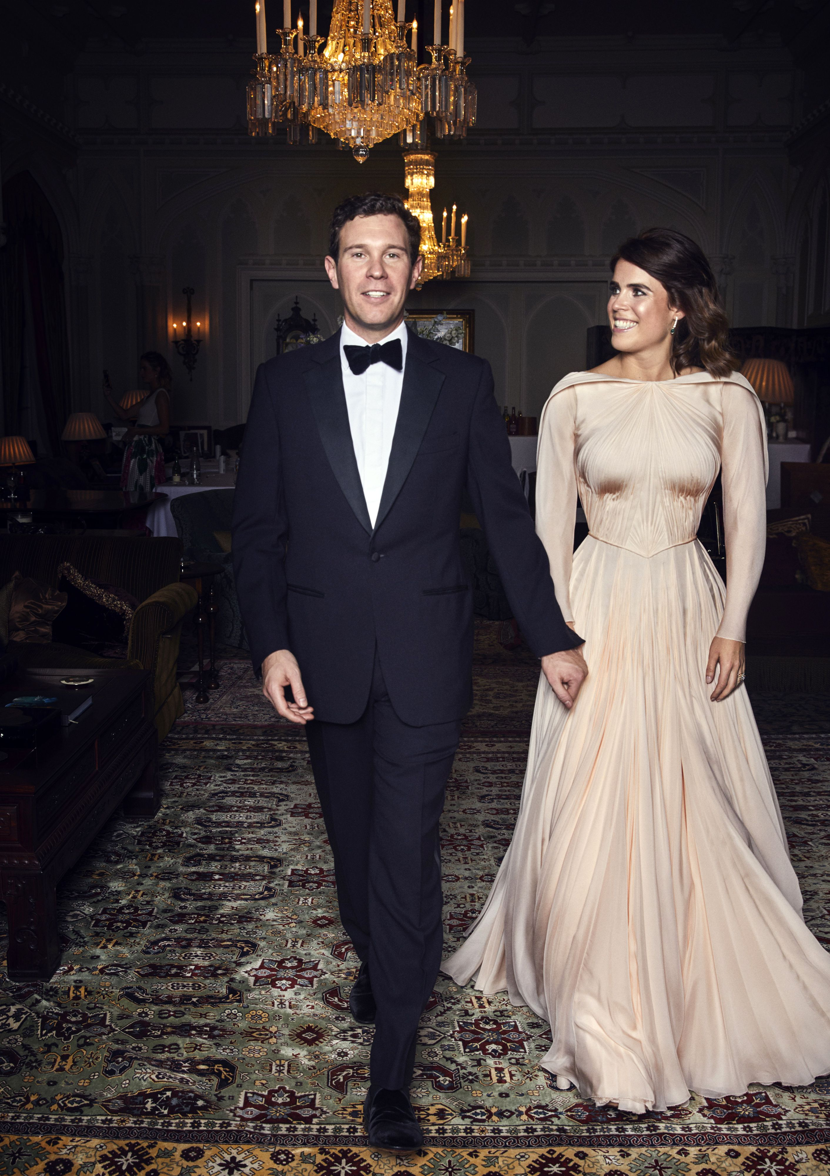 Princess Eugenie S Second Wedding Dress Was Inspired By Grace Kelly Eugenie S Wedding Exhibit