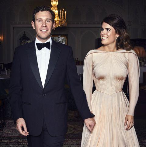 f520473260f1 Zac Posen Shares Princess Eugenie s Wedding Reception Dress Photo ...