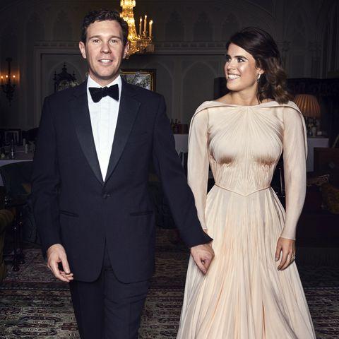 Eugenie Wedding Dress.Princess Eugenie S Second Wedding Dress Was Inspired By Grace Kelly