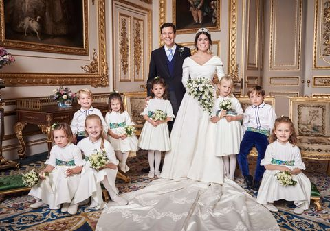 Princess Beatrice S Wedding Dress Compared To Princess Eugenie S Gown
