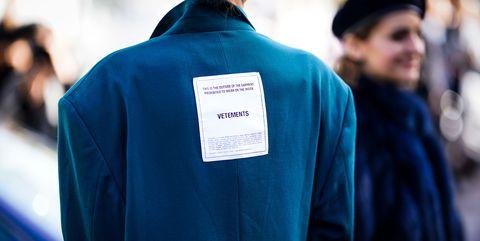 Blue, Clothing, Outerwear, Street fashion, Fashion, Jacket, Academic dress, T-shirt, Electric blue, Top,