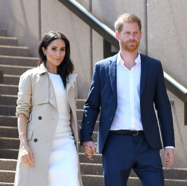 sydney, australia   october 16  prince harry, duke of sussex and meghan, duchess of sussex meet members of the public outside the sydney opera house on october 16, 2018 in sydney, australia the duke and duchess of sussex are on their official 16 day autumn tour visiting cities in australia, fiji, tonga and new zealand  photo by karwai tangwireimage
