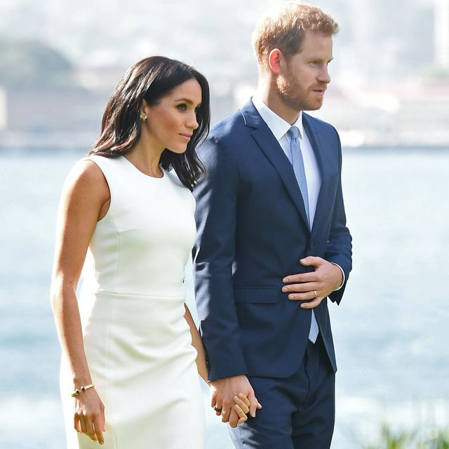 sydney, australia   october 16  no uk sales for 28 days  prince harry, duke of sussex and meghan, duchess of sussex visit admiralty house on october 16, 2018 in sydney, australia the duke and duchess of sussex are on their official 16 day autumn tour visiting cities in australia, fiji, tonga and new zealand  photo by poolsamir husseinwireimage