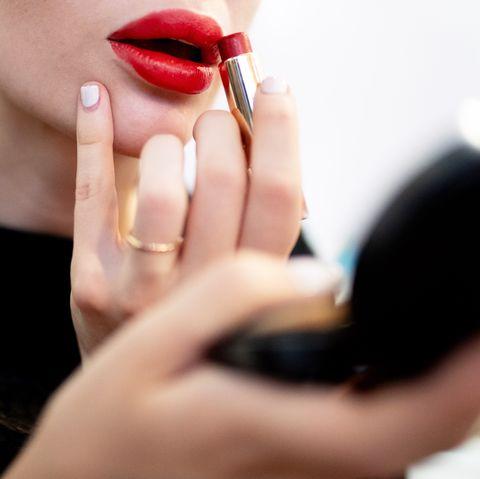 Nail, Lip, Red, Skin, Beauty, Finger, Eyebrow, Hand, Lipstick, Cheek,