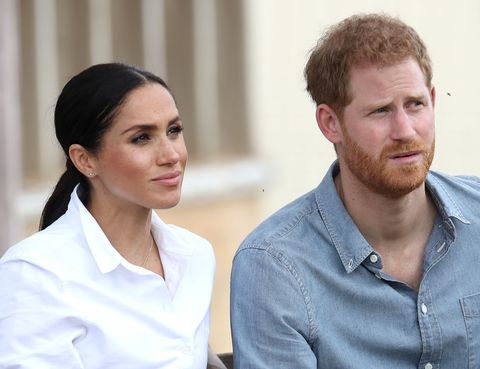 The Duke And Duchess Of Sussex - meghan markle prince harry
