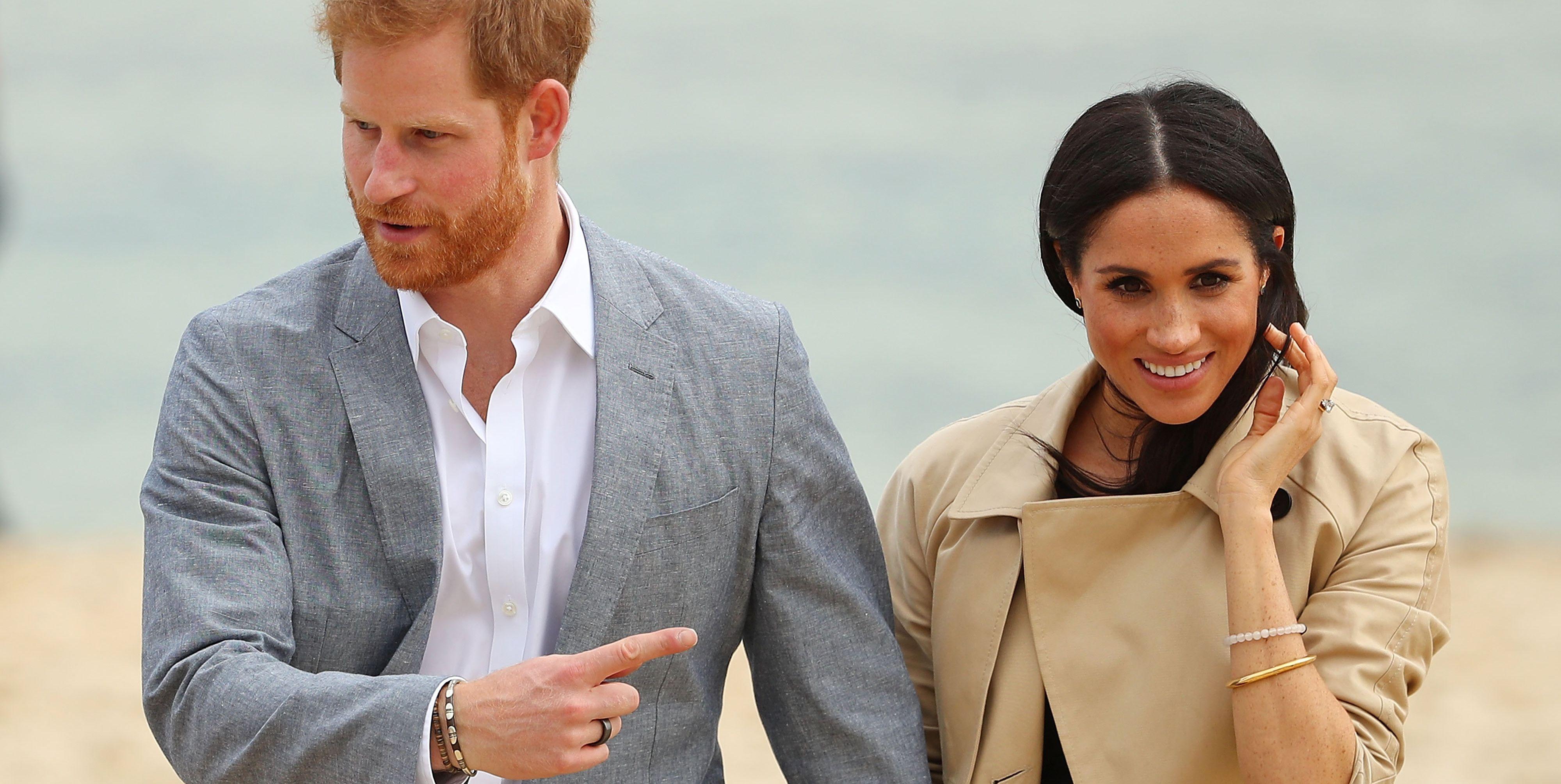 Prince Harry Meghan Markle Australia