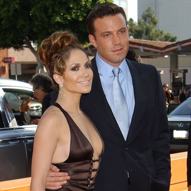 ben affleck  jennifer lopez during gigli   premiere at national theatre in westwood, california, united states photo by gregg deguirewireimage