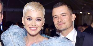 Katy Perry Orlando Bloom amfAr Los Angeles