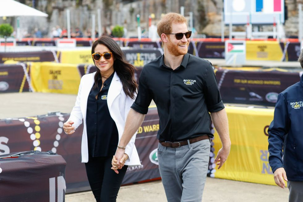 Prince Harry and Meghan Markle Recreate Their First Public Appearance Together at the Invictus Games
