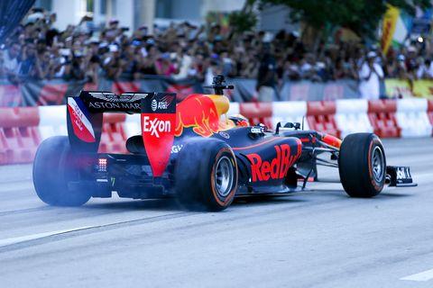 Red Bull Racing Show Run