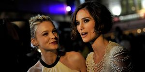 Carey Mulligan and Keira Knightley