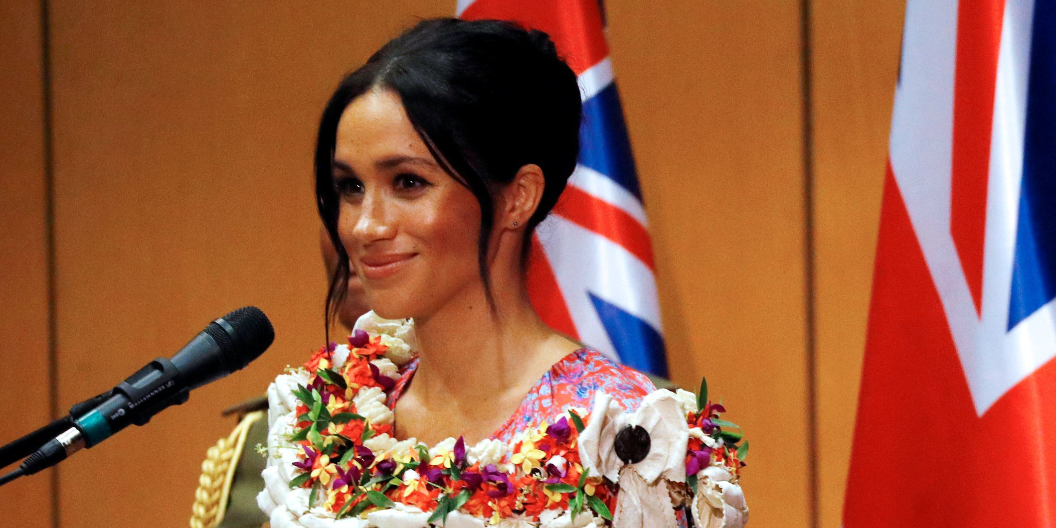 Meghan Markle at the University of South Pacific in Fiji