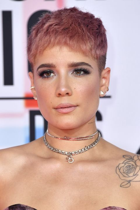 Celebrity Rose Gold Hair Ideas