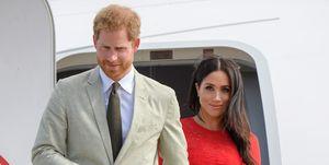 Meghan Markle and Prince Harry visit Tonga