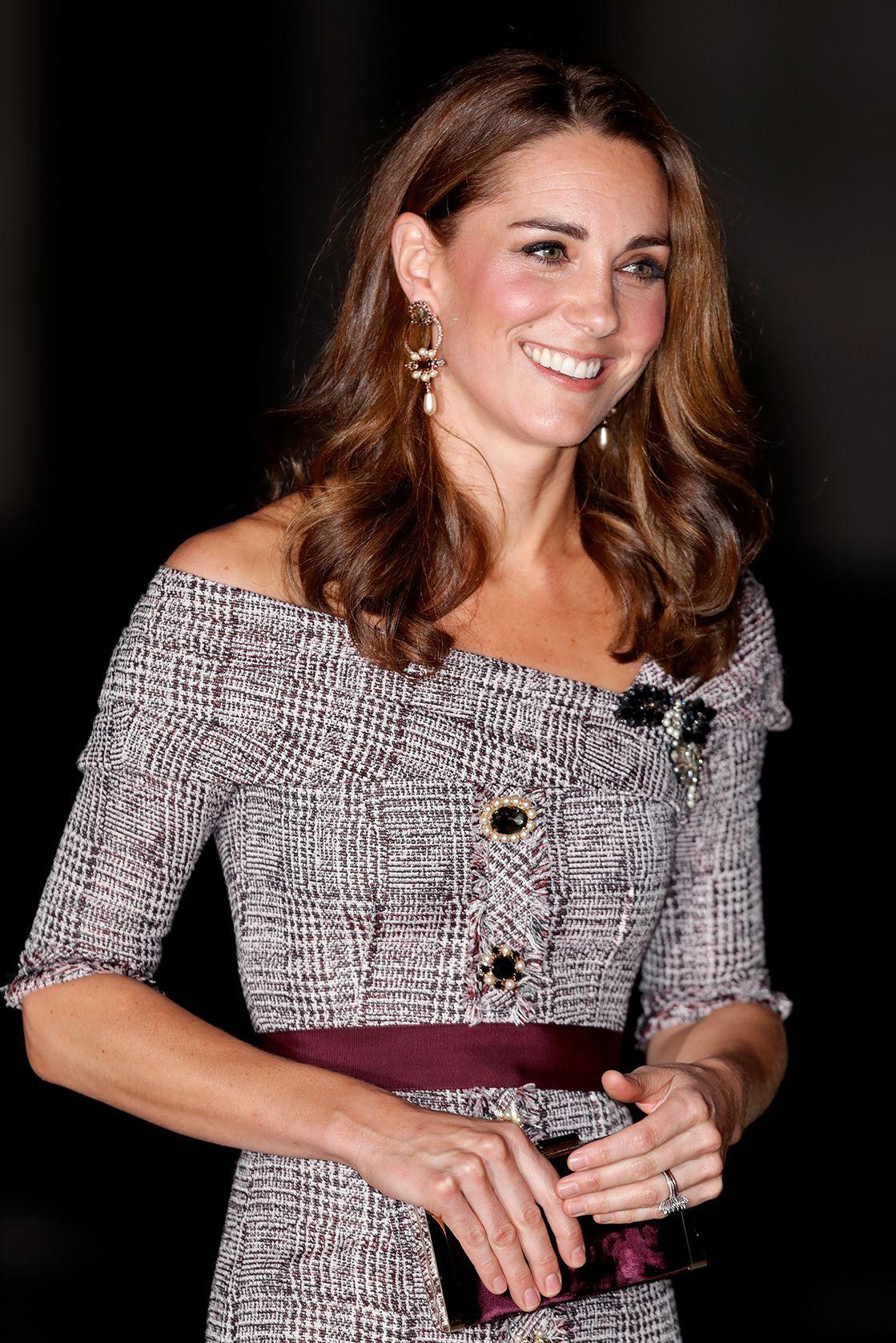 Kate Middleton y su vestido de invitada otoñal Kate
