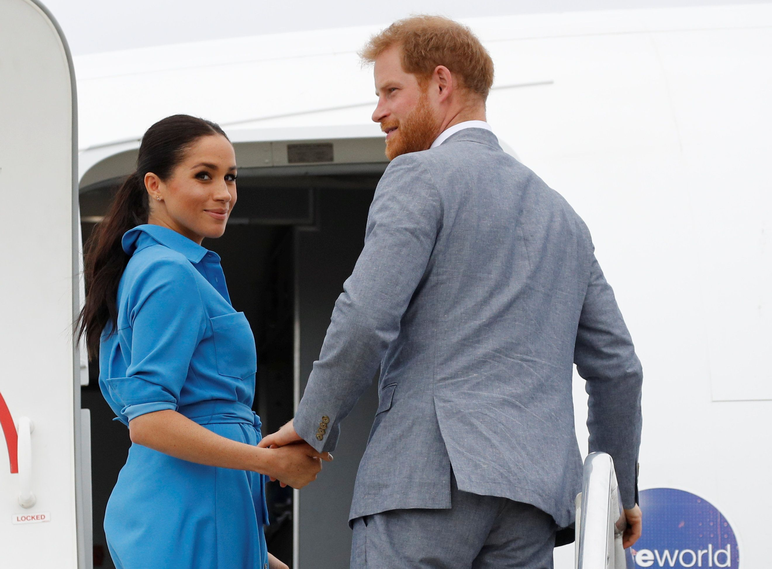 Meghan Markle, Prince Harry, and Archie Were Just Photographed in Nice, France