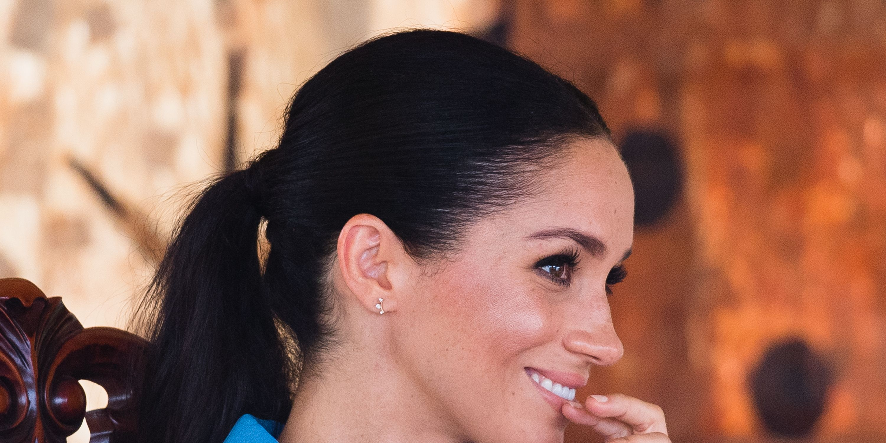 People think Meghan Markle just accidentally gave away her due date