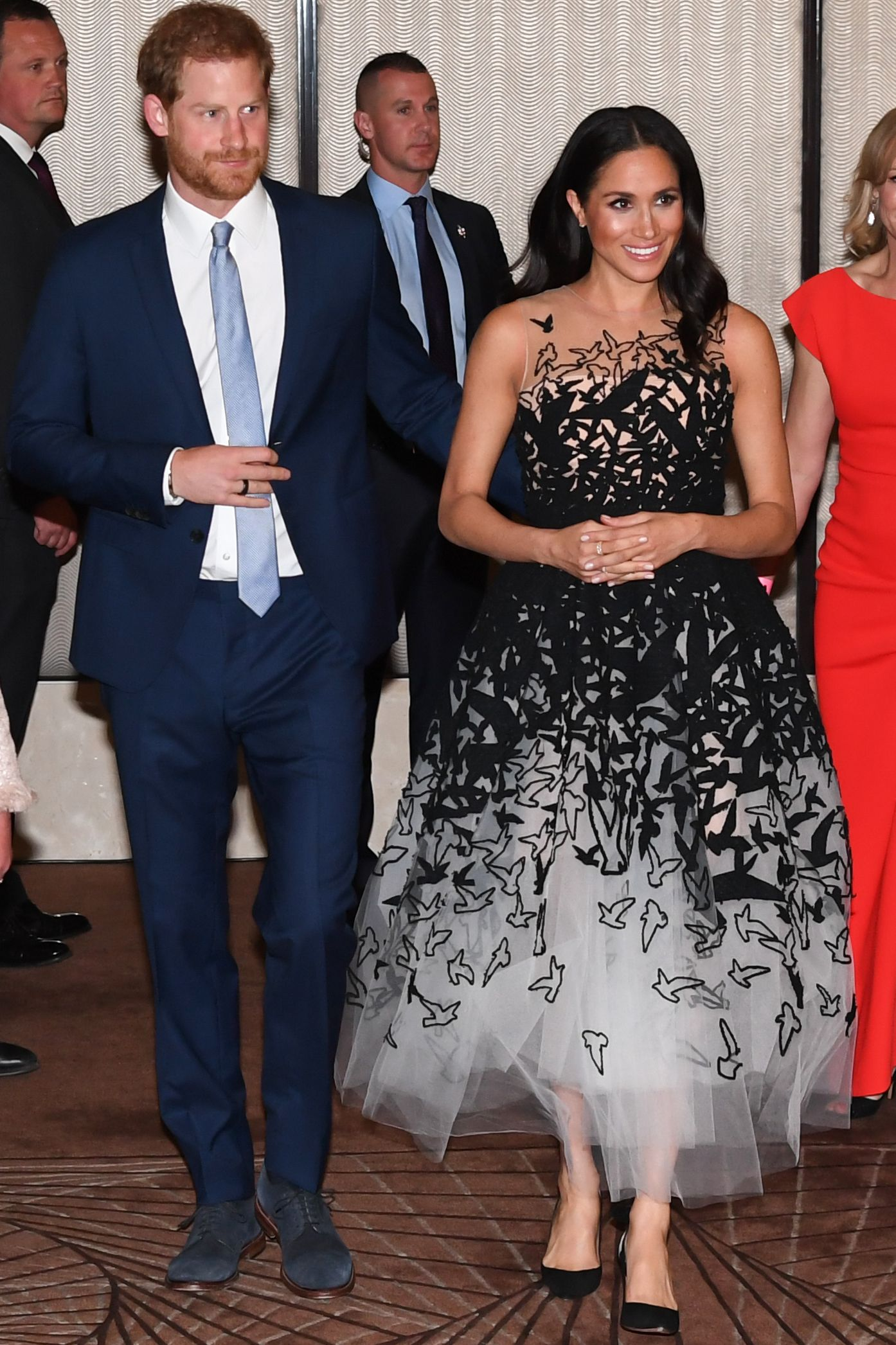 Meghan and Prince Harry at Australian Geographic Society Awards