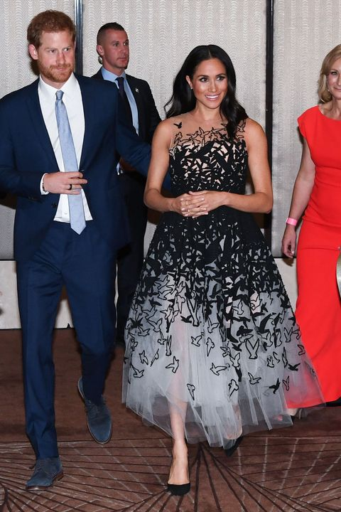72858769b15 Every Outfit Meghan Markle Wore on Her First Royal Tour With Prince ...