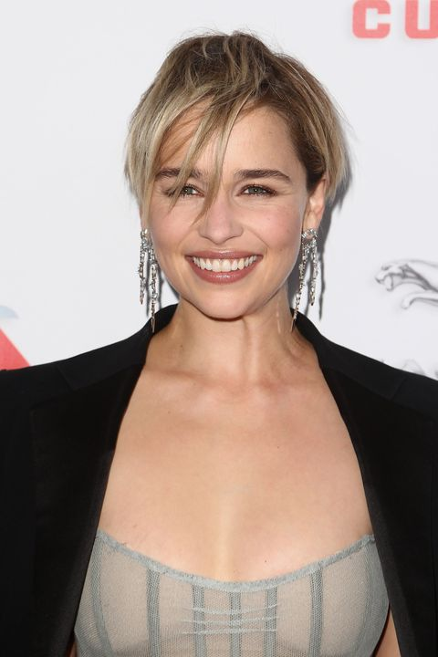 a4257febcfaa8 Emilia Clarke Just Cut Off All Her Hair And It's SO Short