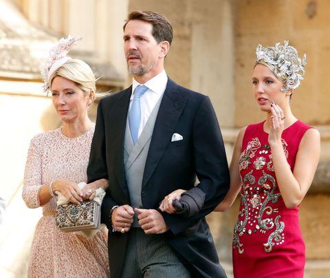 Photograph, Dress, Formal wear, Suit, Bride, Wedding dress, Gown, Headpiece, Event, Fashion,