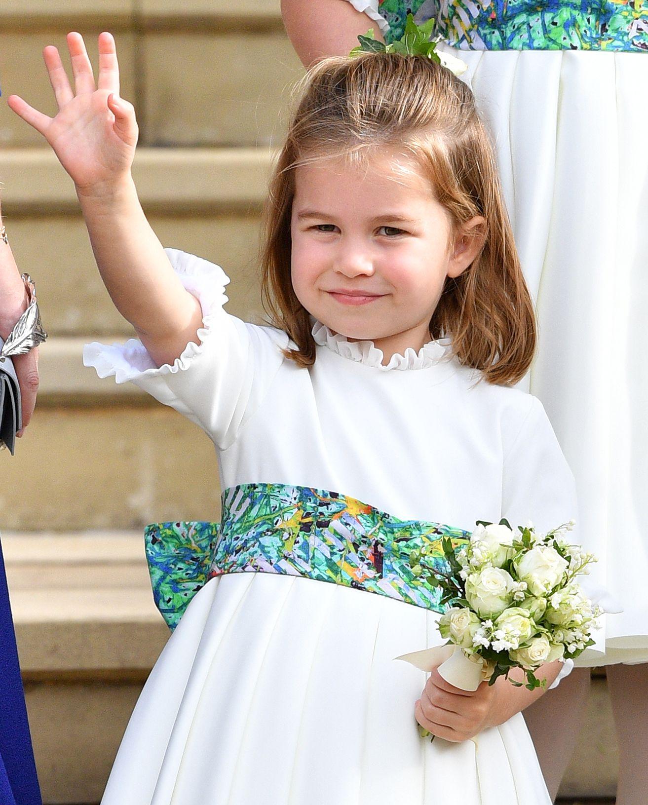 Princess Eugenie And Princess Charlotte Share The Sweetest