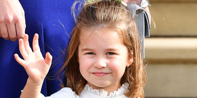 windsor, united kingdom   october 12 embargoed for publication in uk newspapers until 24 hours after create date and time princess charlotte of cambridge attends the wedding of princess eugenie of york and jack brooksbank at st georges chapel on october 12, 2018 in windsor, england photo by poolmax mumbygetty images