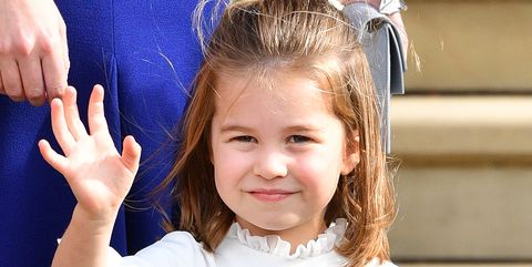 windsor, united kingdom   october 12 embargoed for publication in uk newspapers until 24 hours after create date and time princess charlotte of cambridge attends the wedding of princess eugenie of york and jack brooksbank at st george's chapel on october 12, 2018 in windsor, england photo by poolmax mumbygetty images