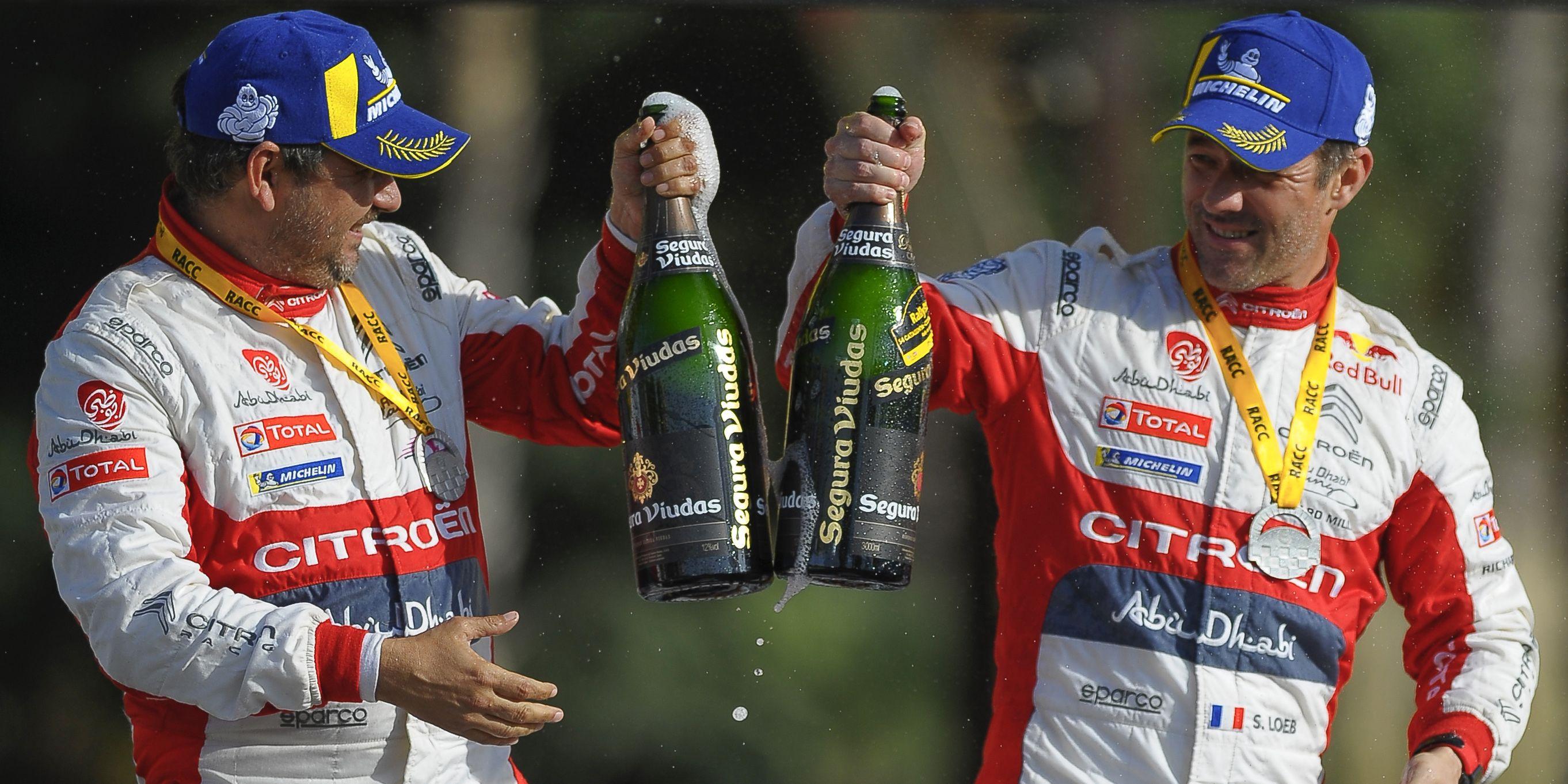 Rally Catalunya WRC Podium Ceremony