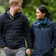 wellington, new zealand   october 29  uk out for 28 days prince harry, duke of sussex and meghan, duchess of sussex visit abel tasman national park, which sits at the north eastern tip of the south island, to visit some of the conservation initiatives managed by the department of conservation on october 29, 2018 in wellington, new zealand  the duke and duchess of sussex are on their official 16 day autumn tour visiting cities in australia, fiji, tonga and new zealand  photo by poolsamir husseinwireimage