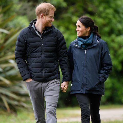 Prince Harry and Meghan Markle at Abel Tasman National Park 2018