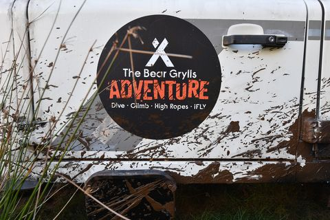 Bear Grylls 'Global First Adventure Attraction' Launch