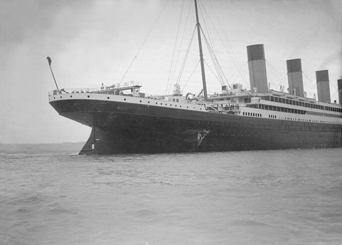 olympic hull torn royal navy