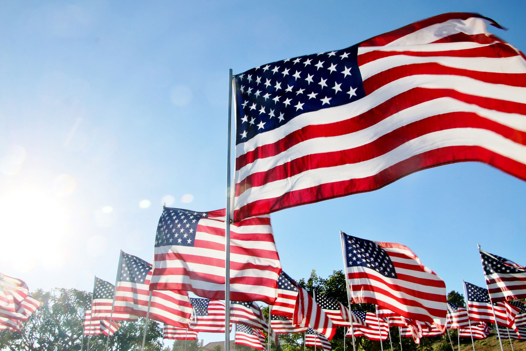 American Flag Etiquette - Rules on Displaying, Folding, and Caring for Your American  Flag