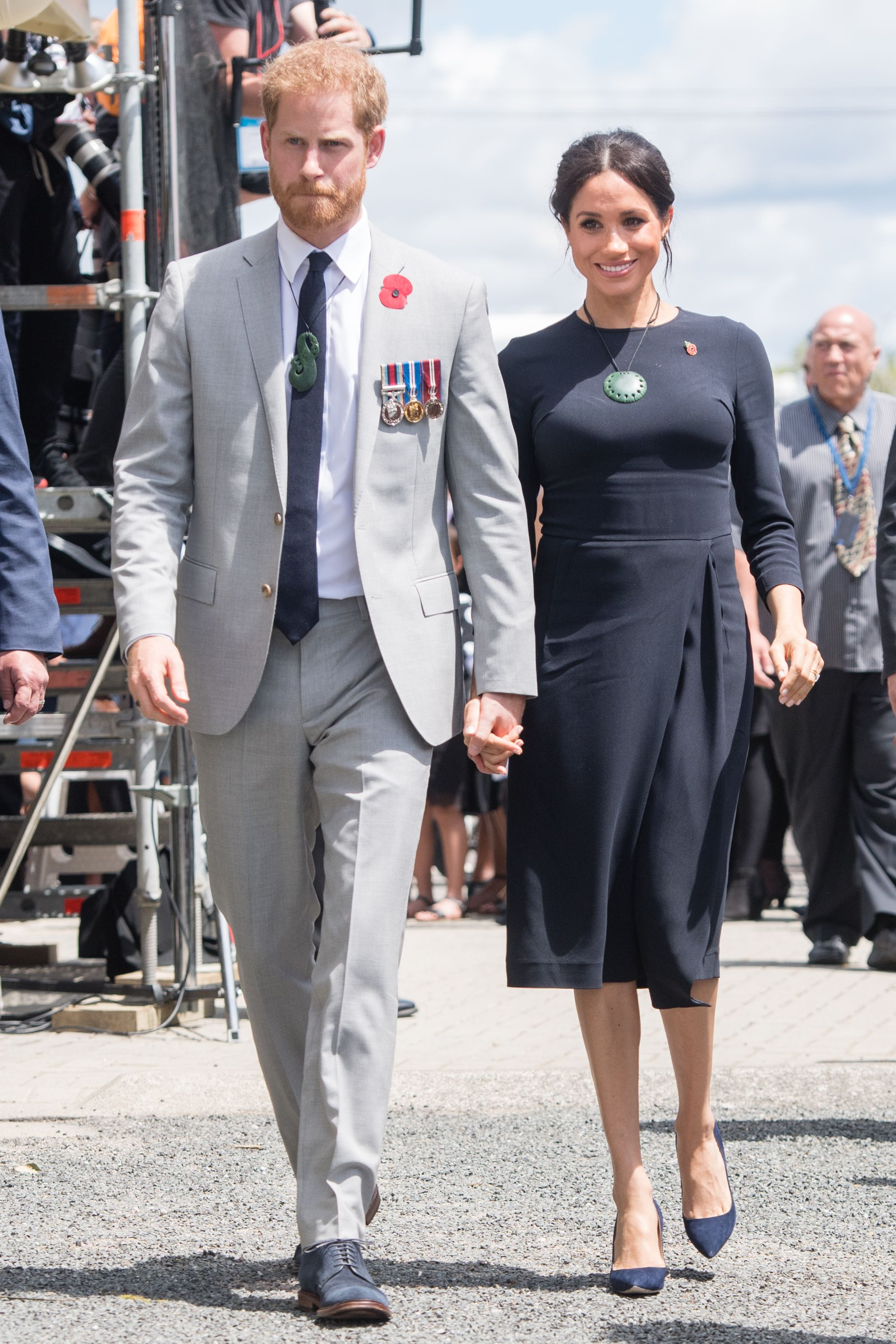 Prince Harry and Meghan Markle also met on a blind date.