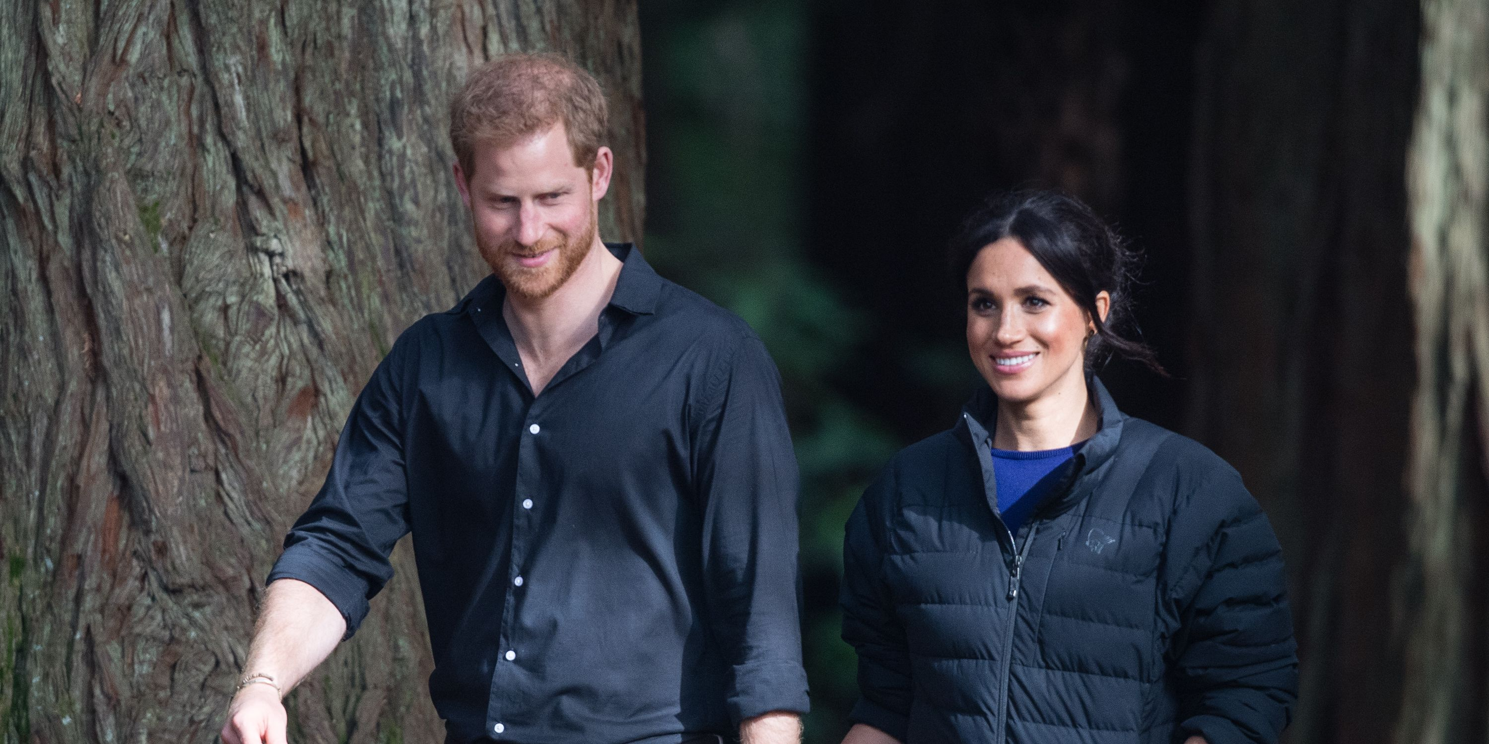 Harry e Meghan al Frogmore House Cottage