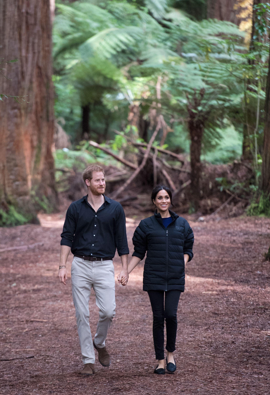 Meghan Markle and Prince Harry On Royal Tour Of Australia