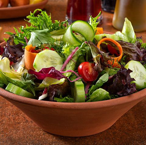 Green Salad with Tomato and Seasonal Herbs