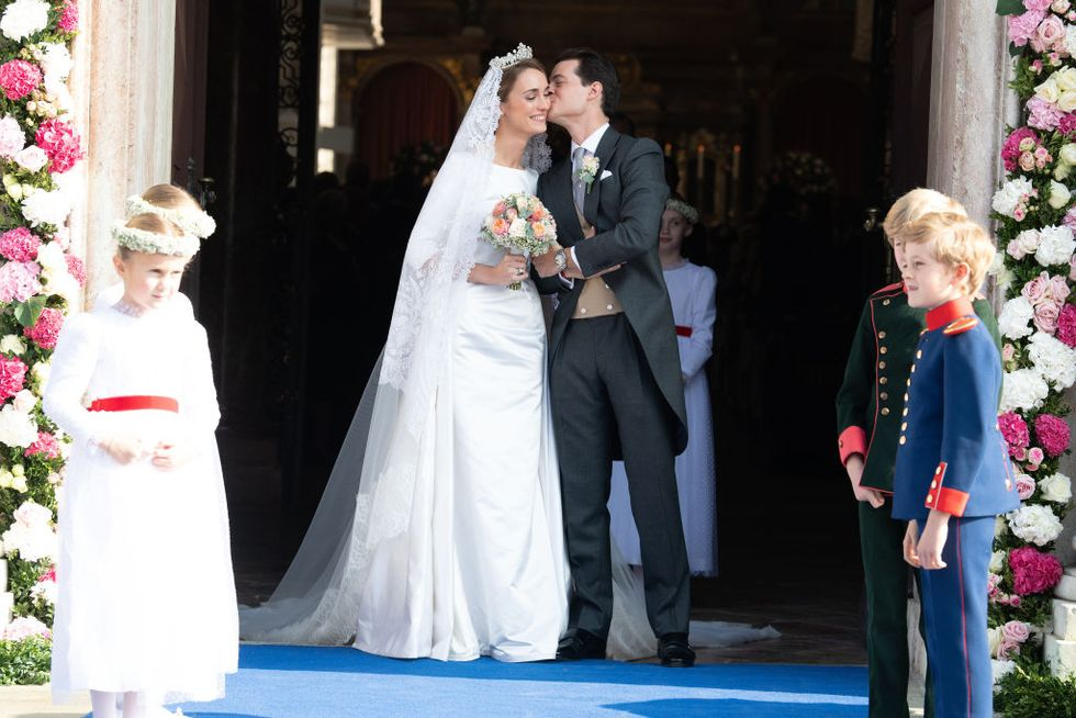 Duchess Sophie of Württemberg Marries Count Maximilien of Andigné in Royal Wedding